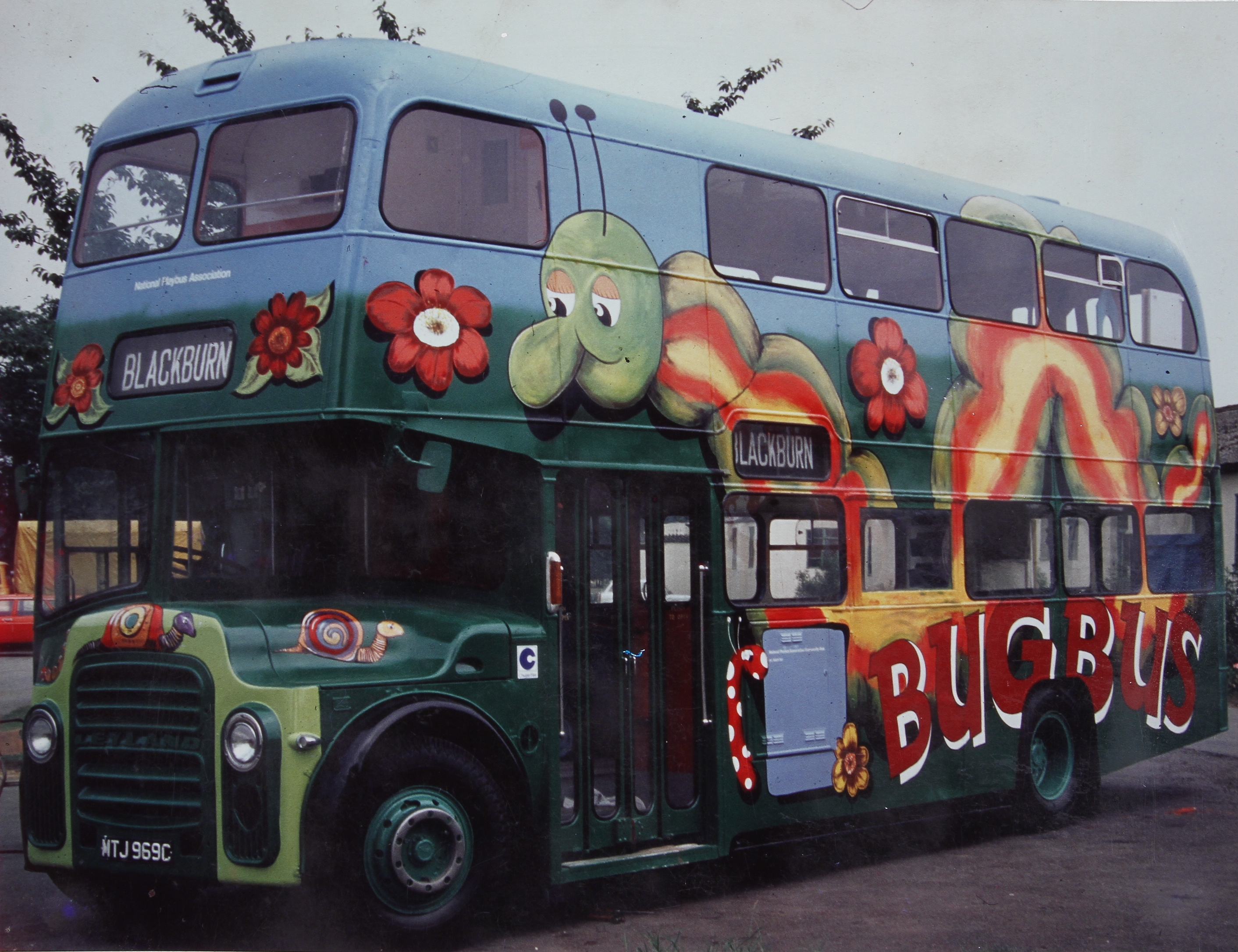 Blackburn bug Bus